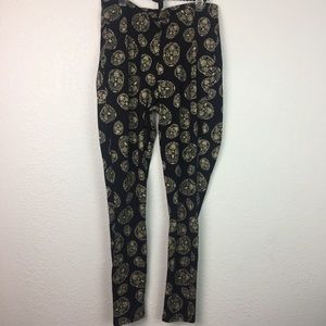 Torrid sugar Skull Leggings Size 2